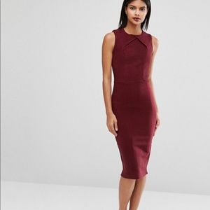 • Ted Baker • Tarala Knitted Bodycon Dress Red 6